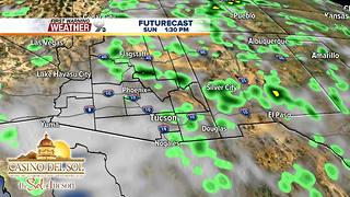 FORECAST: Thunderstorms remain in the forecast - Video
