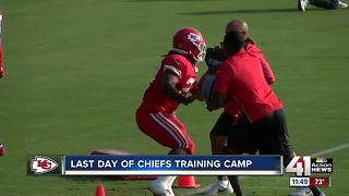 Chiefs Training Camp over, preseason games continue - Video
