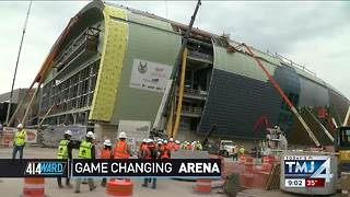 414ward: New Bucks arena will be a game-changer - Video