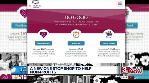 A new website is connecting people to non-profits