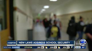 Dozens of new Colorado laws aimed at schools