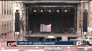 Changes coming to Circle of Lights in downtown Indianapolis - Video