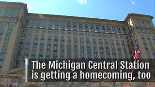 Michigan Central Station Homecoming - Video