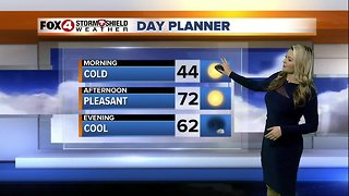 FORECAST: Cold morning, pleasant afternoon