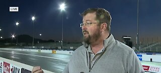 Jeff Motley speaks about NHRA 4-wide National finals starting today