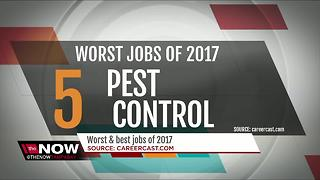 Best and worst jobs of 2017 - Video