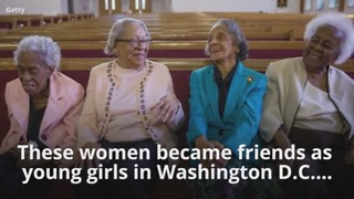 Lifelong Friends Celebrate 100th Birthday Together - Video