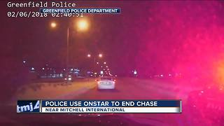 7 arrested after Greenfield Police use Onstar to end chase near Mitchell Airport