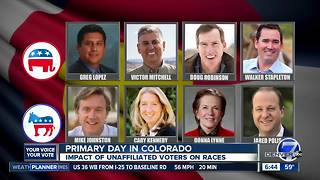 Tuesday is primary day in Colorado - Video