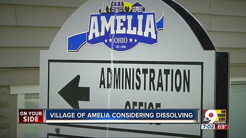 Village of Amelia voting to determine whether or not to dissolve