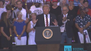 President Trump on the Attack at Phoenix Rally...