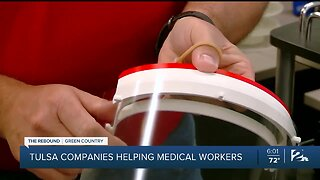 Tulsa companies helping medical workers