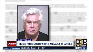Music producer Larry Ryckman arrested at Scottsdale home for assault - Video