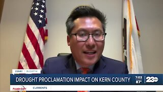 23 ABC Vince Fong comments on drought proclamation