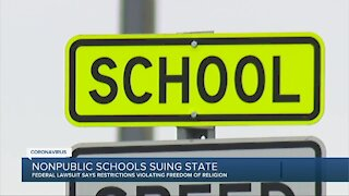 Nonpublic school suing state over COVID-19 restrictions