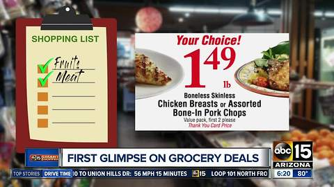 First look at grocery store deals in Valley