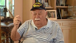 Local WWII veteran supports ban on assault weapons - Video