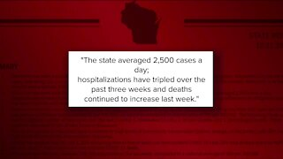 Wisconsin fourth in the nation for new COVID-19 cases