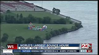 World's largest bounce house coming to Bakersfield - Video