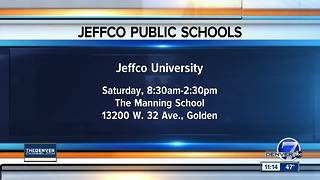 Learn about Jeffco Schools at Jeffco University - Video