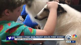 'Hand 2 Paw' non-profit holds first event