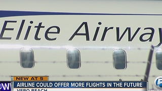 Airline could offer more flights in the future - Video