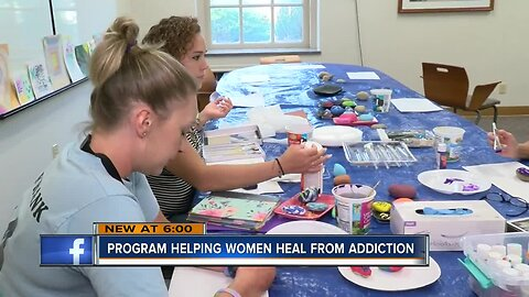 Program helps women heal from addiction