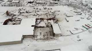 Roofs Collapse Under Heavy Snow in Bend, Oregon - Video