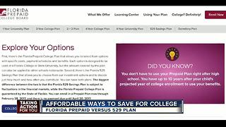 SAVING FOR SCHOOL: Florida Prepaid College Plans deadline is Tuesday - Video