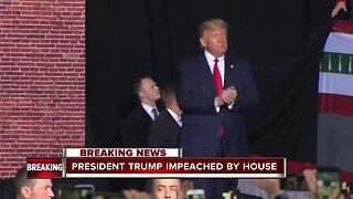 President Trump's Impeached by House