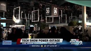 Major power outage hits CES, a consumer electronics show - Video