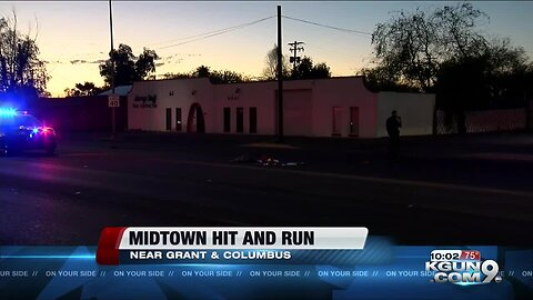 TPD looking for driver of a hit and run