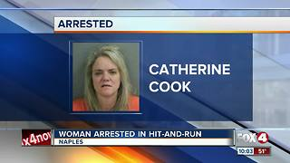 Woman Arrested in Hit-And-Run - Video