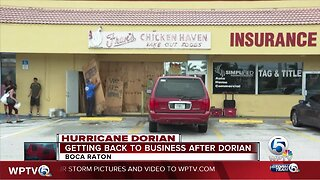 Getting back to business in Boca Raton after Dorian