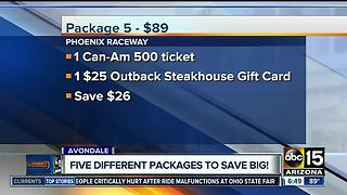 Save big at Phoenix International Raceway - Video