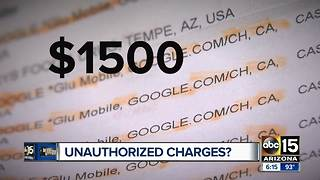 Does your credit card have charges you didn't make? - Video