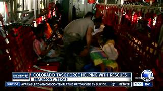 Colorado Task Force helping with rescue efforts in Texas Gulf Coast - Video