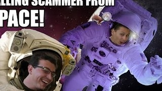 "Prankers Call Phone Scammer With Computer Issues From ""Space"" - Video"
