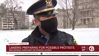 MSP'S Shaw on Possible Protests