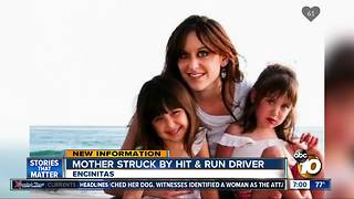 Mother struck by hit and run driver - Video