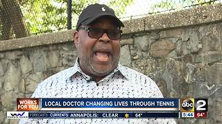 Doctor changing lives through the game of tennis - Video
