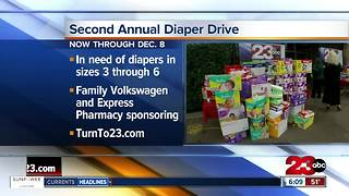 Second annual diaper drive - Video