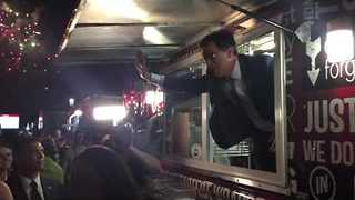 Stephen Colbert Hijacks Wrap It Up Food Truck At RNC - Video