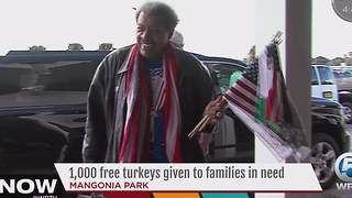 Don King helps families in need