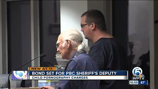 PBSO deputy's bond set at $300,000 after child porn arrest - Video