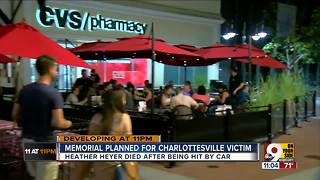 Memorial planned for Charlottesville victim - Video