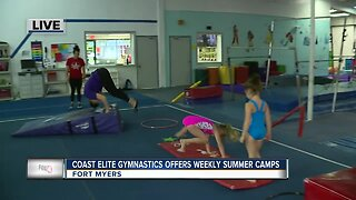 Gymnastics summer camp in Fort Myers