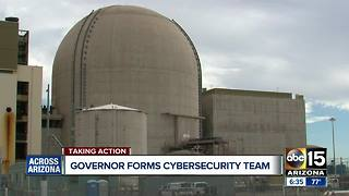 Governor Ducey forms cybersecurity team - Video