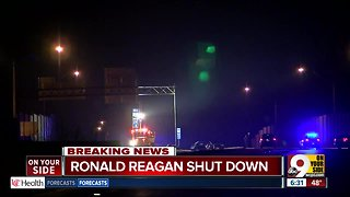 Single vehicle fatal crash shuts down Ronal Reagan Highway