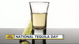 Tampa Bay National Tequila Day deals - Video